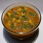 Mughlai Potatoes